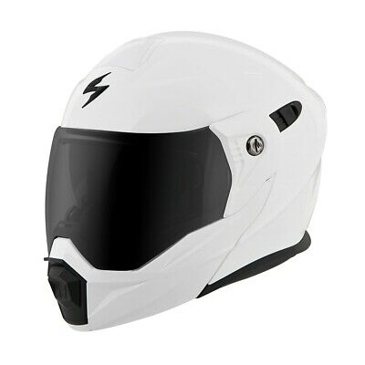 Scorpion EXO-AT950 Full Face Motorcycle Street Helmet White Large 75-1411L