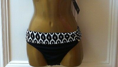 Marks And Spencers Black Mix Hipster Bottoms Size 22, BNWT
