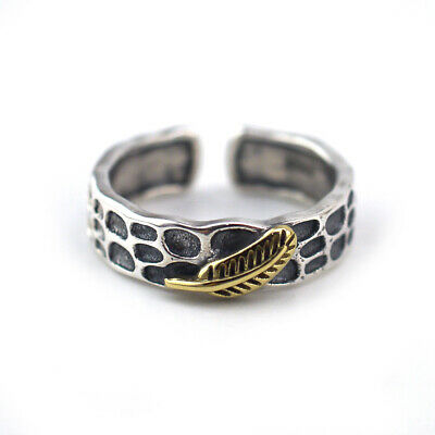 5a93bd791422a OPEN ADJUSTABLE CELTIC Spoon Vintage Ring Sterling Silver Thumb Band ...