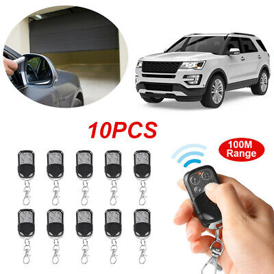 10x Universal Gate Garage Door Fixed Code Replacement Remote Control Fob HS642