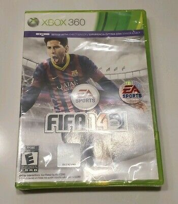 FIFA 14 Microsoft Xbox 360 Video Game Brand New FACTORY SEALED Free Shipping!!!!