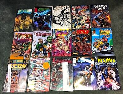 Lot Of 750 - COMIC BOOKS  Real Garage MYSTERY Find! Marvel-Dc's  MINT #1's  $$??