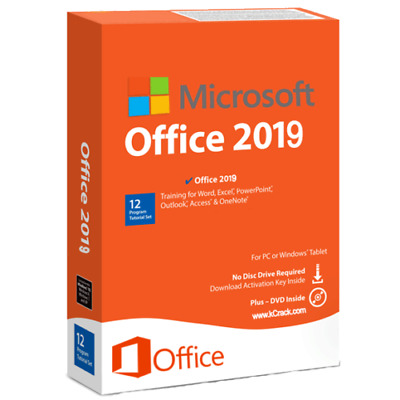 Microsoft Office 2019 Pro Plus Professional LIFETIME ACTIVATION - Fast Delivery