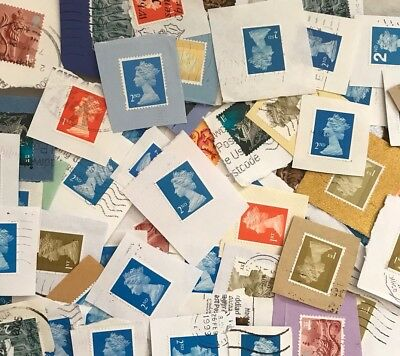 100g 1st And 2nd Class Non Security On Paper Used Postage Stamps