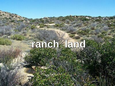Owner Finance 40 ac CA land near San Diego County, Boulevard, Jacumba, Ocotillo