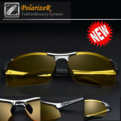 Tac HD Polarized Night Vision glasses Men Driving Sport Pilot Aviator sunglasses
