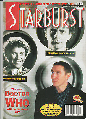 STARBURST Magazine February 1996 - The New Doctor Who (Issue 210)
