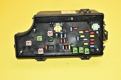 10 jeep compass fuse box relay totally integrated power module assembly oem