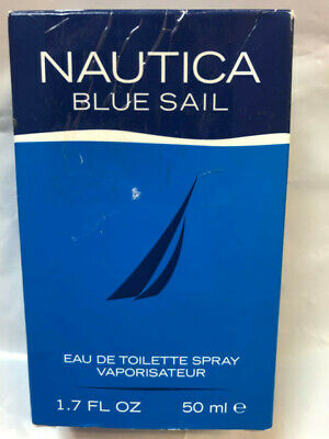Nautica Blue Sail Cologne For Men Eau De Toilette Spray 1.7 Oz  50 ml