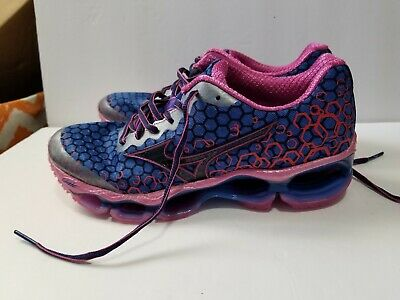 save off 7d0df f4b6d Mizuno Wave Prophecy 3 (Blue Pink) J1GD140002 FITNESS RUNNING Shoes Womens  8 New
