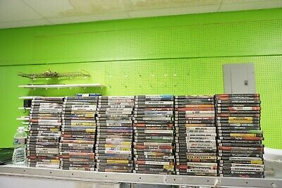 Lot of 150 Used PS2 Playstation 2 Games NO DOUBLES