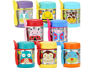 Skip Hop Zoo Kids Insulated Food Jar FREE SHIPPING
