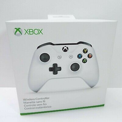 Microsoft Xbox One S Wireless Bluetooth Controller WHITE TF5-00002 (S2900)
