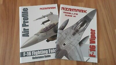 Airmark Bundle Modelling Guide &Air Profile F-16  Reference Guide