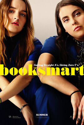 BOOKSMART MOVIE POSTER 2 Sided ORIGINAL 27x40 KAITLYN DEVER BEANIE FELDSTEIN