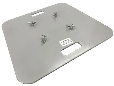 """20""""X20"""" Aluminum Base Plate/ Top For Square Trussing Fits 8""""x8"""" Truss LK-SAT"""
