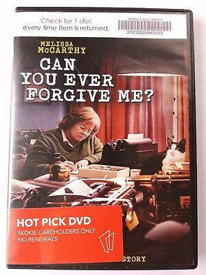Can You Ever Forgive Me?, 2018, R-Rated, Biography Comedy Crime, DVD Movie, LN