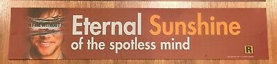 ⭐ Eternal Sunshine Of The - Movie Theater Poster / Mylar LARGE - Double-Sided DS