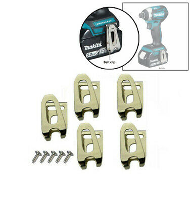 Belt Clip Hook & Screw For Makita Lxt Cordless Drills And Impact Drivers