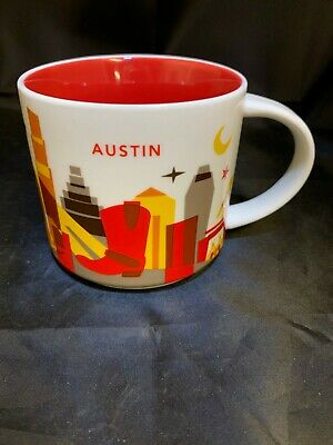Mug Are Here Yah Cup 2018 City New Series AustinUsa Starbucks You UpGLSzMVq