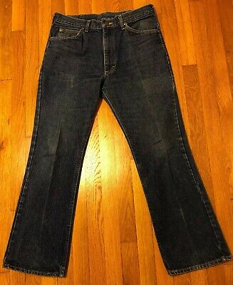 f181da1a VINTAGE 60'S LEE Jeans Tall E-Mr. Riders Mens Union Made USA. 34W X ...