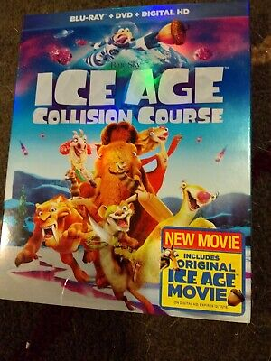 Ice Age Collision Course 2016 - Blu-Ray + DVD, No digital Never Played