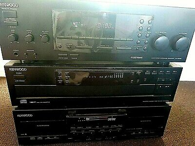 Kenwood Pro Logic Stereo Sound System With  Quadral Speakers