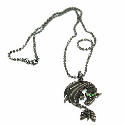 How to Train Your Dragon 2 Toothless Night Fury Necklace Pendant US Ship
