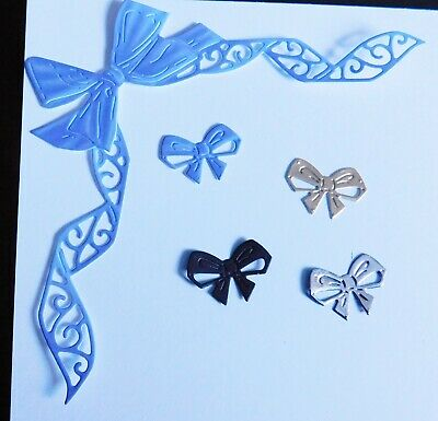 all occasion LACE RIBBON BORDER BOW DIE 457737 TATTERED LACE STEPHANIE WEIGHTMAN