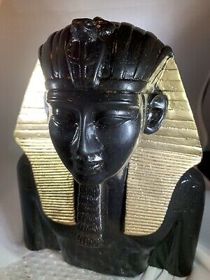 Bust of Egyptian Pharaoh , King Tut