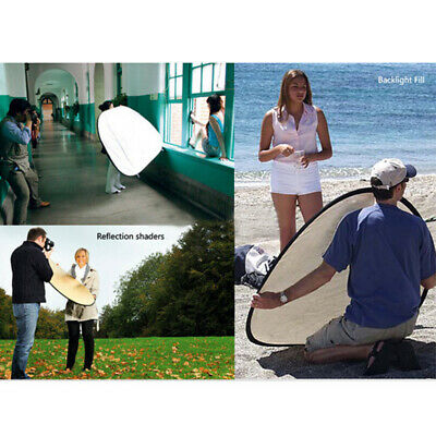 5 in 1Photography Studio Light Control Collapsible Reflector Panels Diffuser