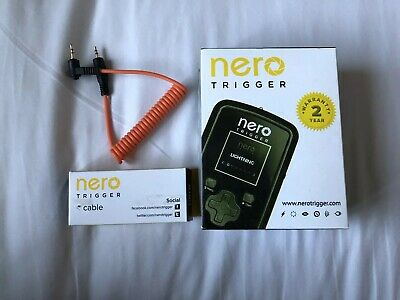 Nero Trigger With Cable Flash And Connector Photography Lightning Sound