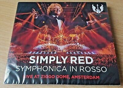 Simply Red - Symphonica in Rosso - Live at Ziggo Dome Amsterdam CD + DVD Digipak