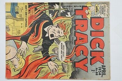 Dick Tracy comic book No. 48 issued Apr 1954