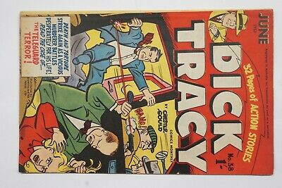 Dick Tracy comic book No. 38 issued June 1953