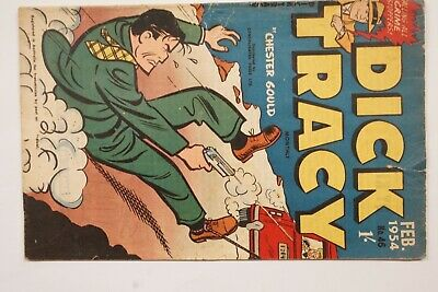 Dick Tracy comic book No. 46 issued Feb 1954