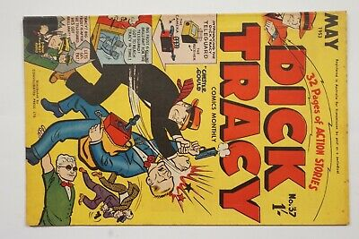 Dick Tracy comic book No. 37 issued May 1953