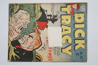 Dick Tracy comic book No. 50 issued Jun 1954