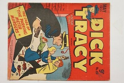Dick Tracy comic book No. 61 issued May 1955