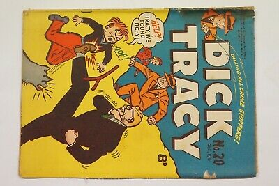 Dick Tracy comic book No. 20 issued Dec 1951