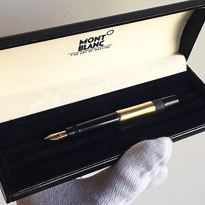 penna stilografica MONTBLANC Safety fountain pen plume nib SIMPLO 1 Gold vintage