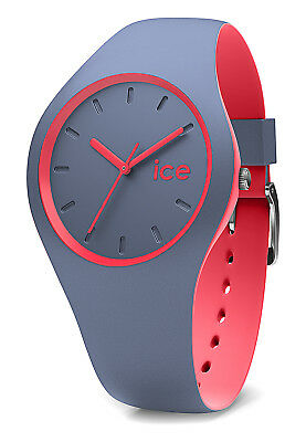 ICE WATCH ICE duo Stone Coral anthrazit apricot Medium Neu in OVP