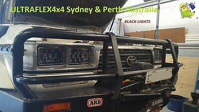 Lr Discovery 1 2 Conversion 7 Legal 105w Round Led Headlights