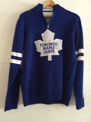 Vintage NHL Toronto Maple Leafs Supporter Sweater