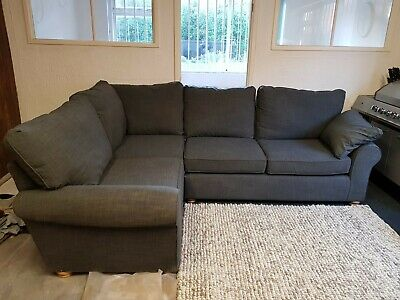 M&s corner sofa used 3 months old. Comes in 2 parts measuring at 6 feet eachSid