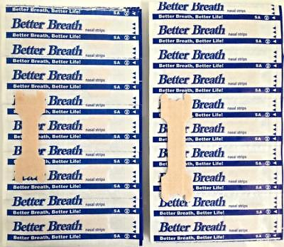 5-1000 Better Breath Nasal Strips Reg Or Large Right Aid To Stop Snoring Bargain