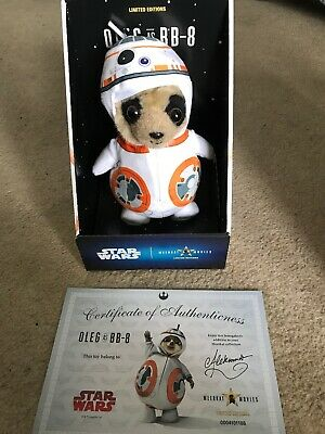 *Baby Oleg As Bb8* Compare The Market Meerkat Toy Star Wars Limited Edition*