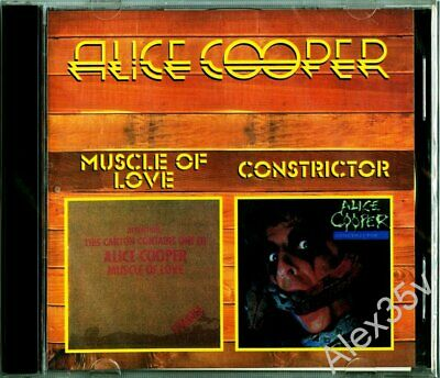 ALICE COOPER - Muscle Of Love 1974 / Constrictor 1986 1998 CD