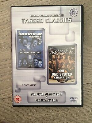 Wwe Tagged Classics (Survivor Series 2001/Vengeance 2001)Dvd Region 2 (Long Oop)