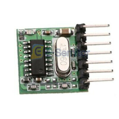Mini 433Mhz Wireless RF Remote Control 1527 Learning Code Transmitter Module
